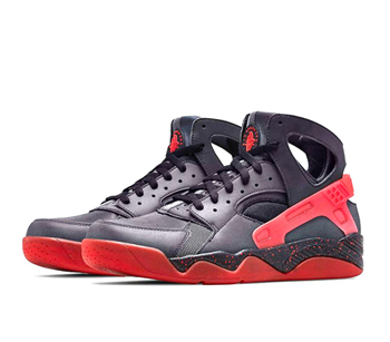 The Drop Date Nike Air Flight Huarache Love Hate 3m leather Black Anthracite Challenge Red 686203-001 p