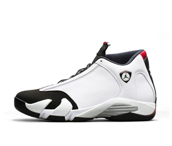 The Drop Date Nike Air Jordan 14 xiv black toe white black varsity red  metallic silver