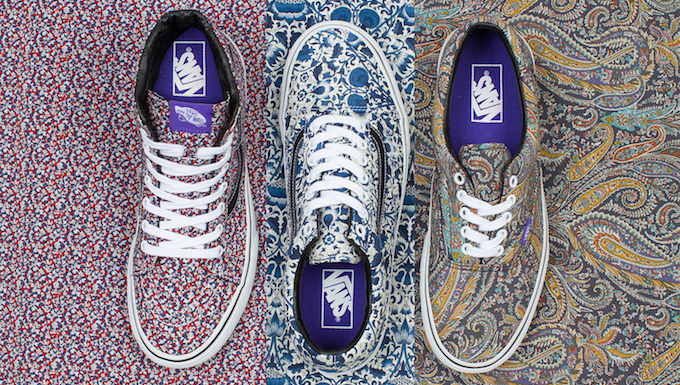 89da406a78b137 VANS X LIBERTY ART FABRICS COLLECTION – JULY 2014