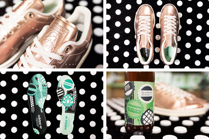 sneakersnstuff x adidas originals brewery pack stan smith