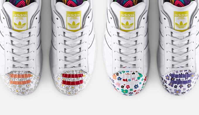 huge selection of f8330 3e9cb adidas originals x pharrell williams supershell artwork collection 7