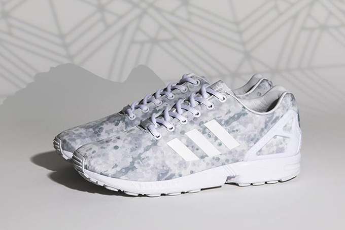 cheap ZX FLUX ADV ASYMMETRICAL Trainers white samrya