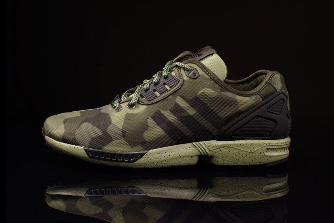 reputable site ac196 f4d65 ADIDAS ORIGINALS ZX FLUX DECON. Camouflage ...