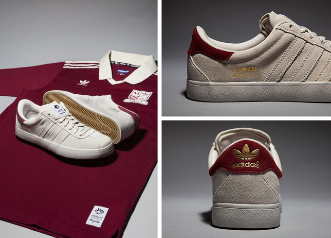 adidas skateboarding x magenta skateboards a league capsule collection details