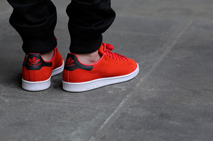 Adidas Stan Smith Red Core Black