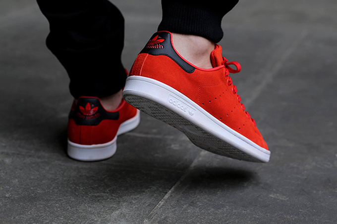 ADIDAS STAN SMITH - RED RED CORE BLACK 1eccc1849001