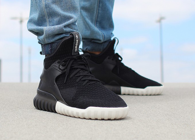 Adidas Tubular Knit Grey
