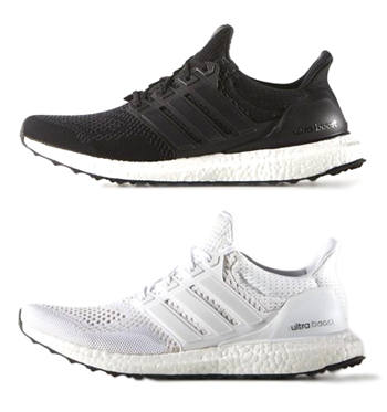 Adidas Ultra Boost Black And White