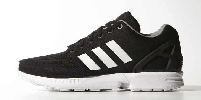 Adidas Flux Black And White Stripe