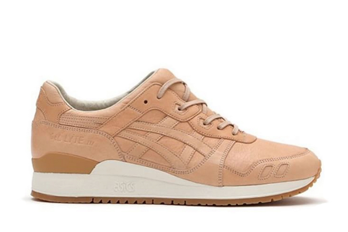 new style e2b4a 4edfa ASICS Tiger Gel Lyte III Vegetable Tanned Leather