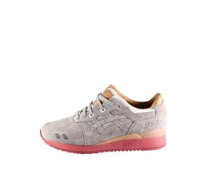 asics x packer shoes dirty buck gel lyte iii grey suede anniversary f