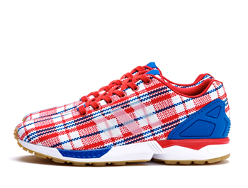 the latest 542b5 3cd3a ADIDAS CONSORTIUM x CLOT ZX FLUX RWB