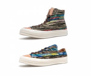 converse 1970s chuck taylor all star ox low high 70s folk knitted missoni p
