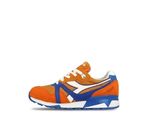 diadora x packer shoes n9000 dinamo zagreb orange blue white f