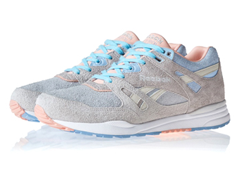 end x reebok husky ventilator 25th anniversary grey blue pink p