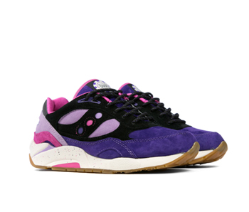 feature lv x saucony g9 shadow 6 the barney purple p