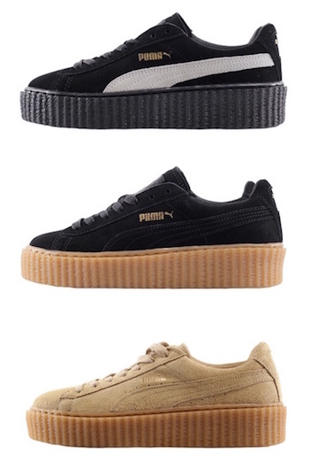 in stock 05279 349e9 FENTY BY RIHANNA X PUMA SUEDE CREEPER COLLECTION - AVAILABLE ...