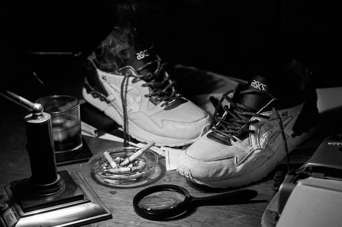 check out 82eb9 e3208 MONKEY TIME X ASICS TIGER GEL LYTE V LIGHTS AND SHADOWS ...