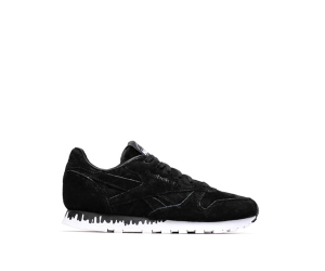 naked x reebok classics classic leather drip black white p
