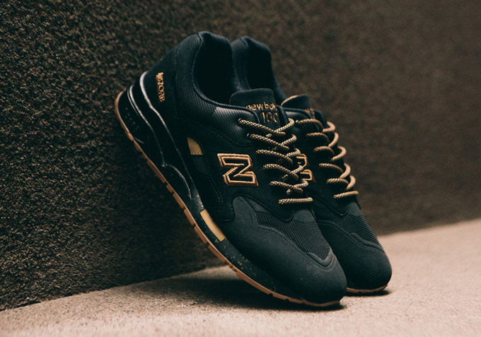 05fa57155b9 New Balance 1600 Black and Gum - The Drop Date