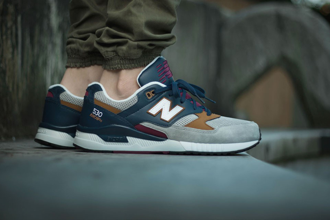 f780070eb4357 New Balance 530 Grey and Stone - The Drop Date