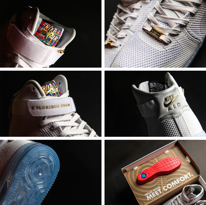 Nike Air Force 1 High CMFT 'E Pluribus Unum' | SneakerFiles