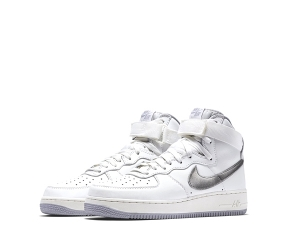 nike air force 1 og summit white silver 743546-101 wolf grey f2