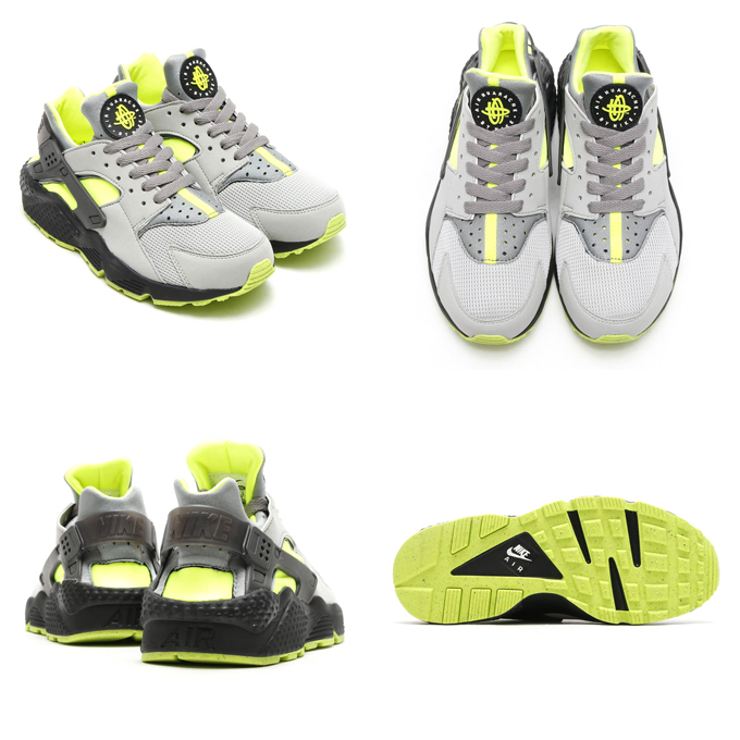 nike air huarache dust volt
