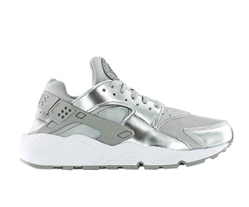 nike air huarache metallic silver p