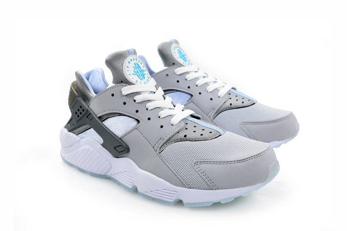 save off 21022 0fe5d nike air huarache run wolf grey front