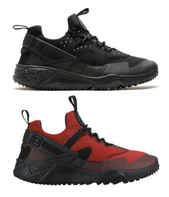 nike air huarache utility black gym red 806807-600 806807-002 p