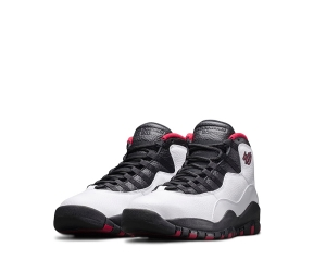 nike air jordan 10 white true red black 10 x remastered double nickel 45