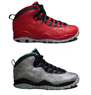 ef7c9cb4fa9f NIKE AIR JORDAN 10  BULLS OVER BROADWAY     LADY LIBERTY . Gym Red ...