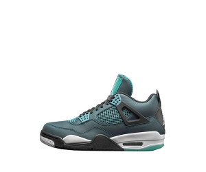 nike air jordan 4 iv remastered teal white black 705331-330