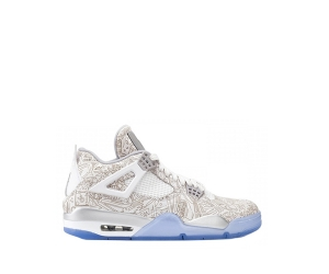 nike air jordan 4 white blue laser f