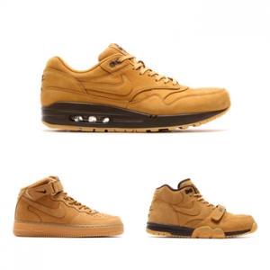nike air max 1 force trainer wheat pack flax 2014 p