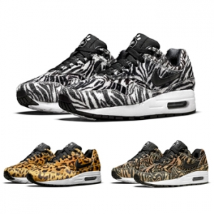 newest 8bca9 0d6c6 nike air max 1 gs zoo pack cheetah zebra tiger f2