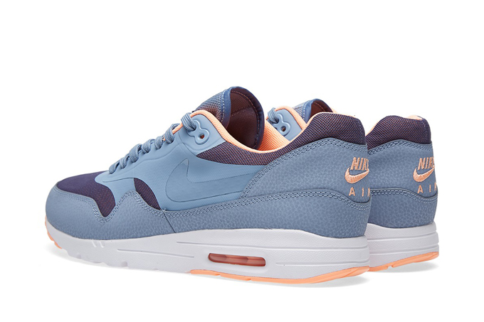 new product 41f3e f6184 nike air max 1 ultra moire cool blue and sunset glow back. Next. Nike White  Ostrich Gum Pack