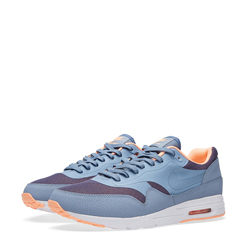 designer fashion 0838a a2de1 Nike Air Max 1 Ultra Moire Cool Blue and Sunset Glow
