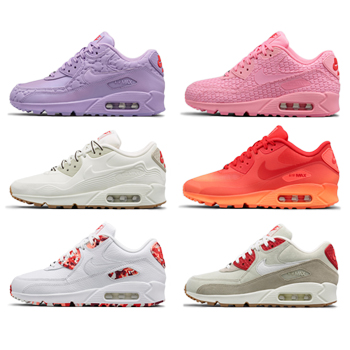 nike air max 90 sweet schemes wmns womens city pack collection f