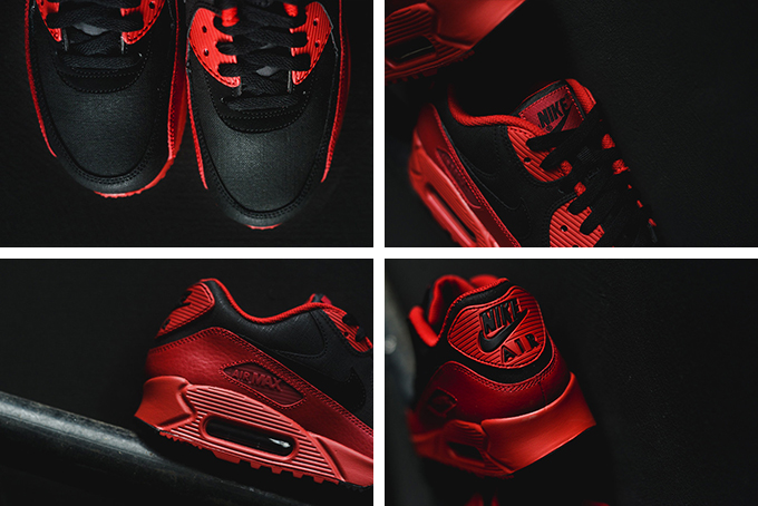 Nike Air Max 90 Hiver Prm Gymnase Rouge