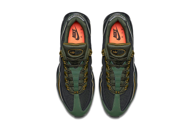 0758b7ad6aba7d Nike Air Max 95 Carbon Green - The Drop Date