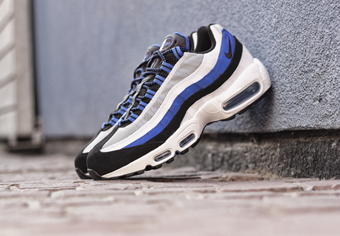 innovative design 89789 37160 ... authentic nike air max 95 game royal side 1a699 f36de