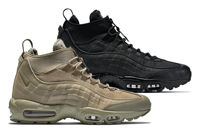purchase cheap 63aae fe74a Nike Air Max 95 Sneakerboot Pack - The Drop Date