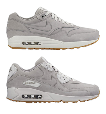 nike air max premium leather pack grey gum 1 90 winter p