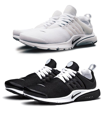 nike air presto br white black p