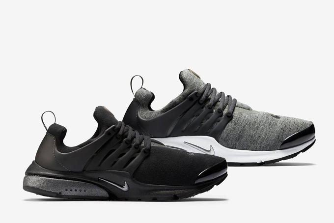 Nike Air Presto Fleece Grey