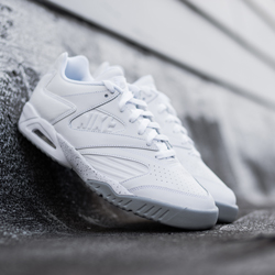 nike air tech challenge iv low white and wolf grey f