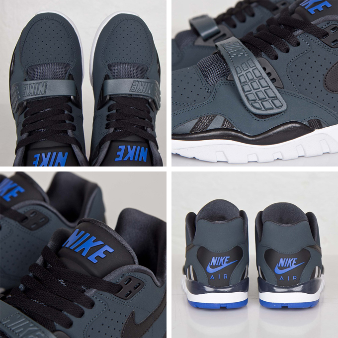 timeless design 43080 2ce29 nike air trainer sc ii low classic charcoal details