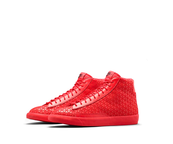 nike blazer mid red
